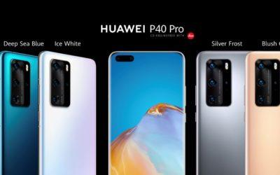 Huawei a lansat noile modele P40. Disponibile la precomanda din 27 martie