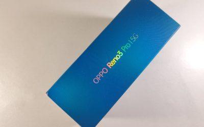 Unboxing și primele impresii – Oppo Reno 3 Pro